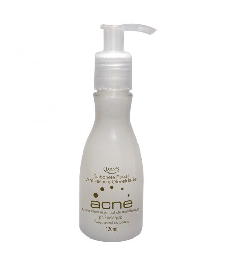 Sabonete Acne facial anti-acne e oleosidade 120ml
