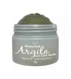 Máscara Facial Argila com Café Verde – Vitamina E / ácido hialurônico - 60gr