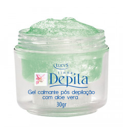 Gel calmante pós depilação c/ aloe vera -  30gr