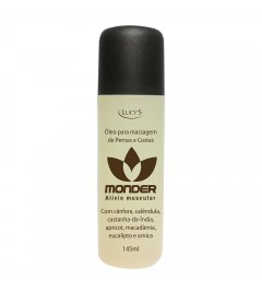 Óleo Monder para massagens de pernas e costas - 145ml
